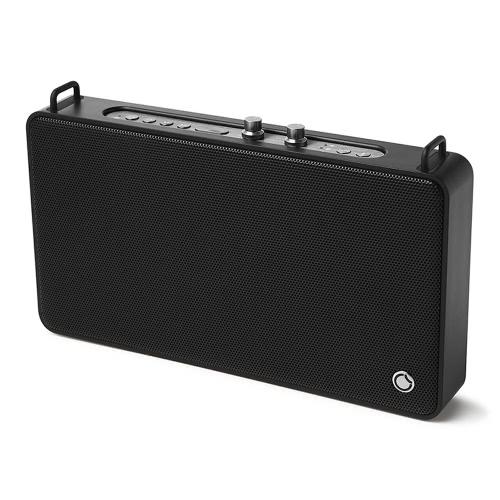 Stereo GGMM E5 sans fil WiFi BT Speaker Mini sans fil haut de gamme BT Speaker Box mains libres pour iPhone 6 6S 6 Plus 6S plus Samsung S6 S6 bord Note 5 Tablet PC portable 6600mAh batterie 7 Heures Endurance BT 4.0 Connexion rapide Anti-dérapant Solide Durable
