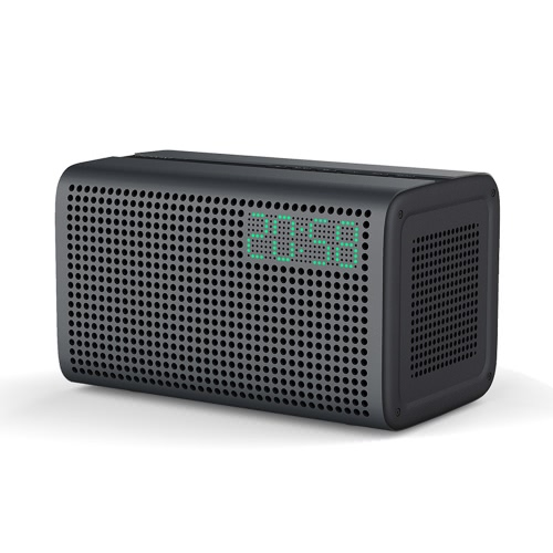 GGMM E3 Wireless WiFi Bluetooth inteligente Speaker HiFi Stereo Speaker Box Carregador para iPhone 6S 7 Plus Samsung S6 S6 borda Nota 5 Tablet PC Portátil AUX Ligar Anti-skid resistente sólida