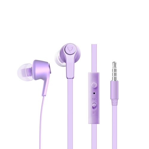 BAYASOLO X8 Fone de ouvido intra-auricular Fone de ouvido estéreo desportivo portátil Fone de ouvido mãos-livres 3.5mm com microfone para Samsung S8 + Nota 8