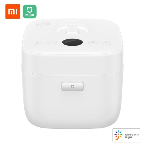 Xiaomi Mijia Electric Rice Cooker 5L Smart Home Alloy Cast Iron Heating Pressure Cooker Multicooker App Control Home Kitchen Appliances 220V 1100W