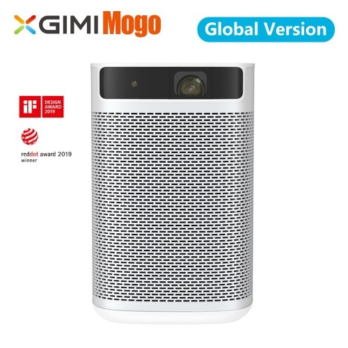 Global Version XGIMI XJ03W MOGO DLP 3D Projector 960 X 540P Support 4K 210Ansi Lumens Android 9.0 2+16GB Dual-band 2.4&5GHz Google Assistant TV Portable Projector With 10400mAh Battery 100-240V with AU UK EU US Plug