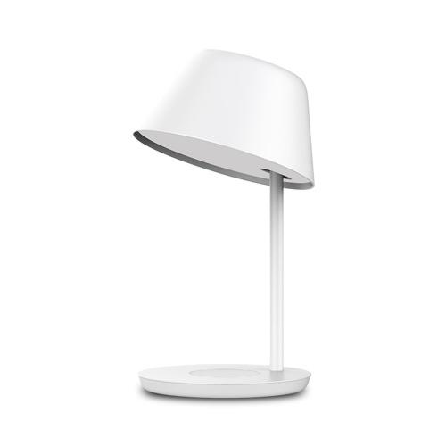 Прикроватная лампа Yeelight Staria Pro YLCT03YL с беспроводной зарядной станцией Qi Настольная лампа 2700K-6500K Ночник Лампа для домашнего офиса Учебная лампа Управление приложением Голосовой помощник Работа с Google Alexa Siri 100-240V