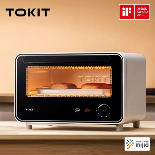 Xiaomi Youpin TOKIT Mini Smart Oven 12L Rapid Heating Baking Oven Hot Air Fermentation Automatic Oven Bakery Work with Mijia APP