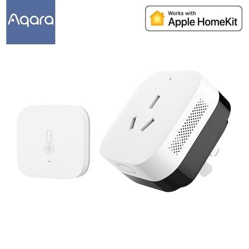 Controlador de Ar Condicionado Aqara P3 KTBL12LM Zigbee 3.0 Gateway Companheiro de Ar Condicionado Infravermelho Siri Controle de Trabalho Com Apple HomeKit