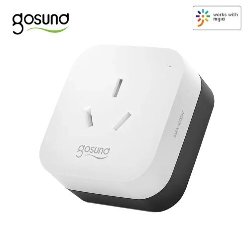 Gosund CP2 prise intelligente 16A 2.4GHz Version WiFi fonctionne avec Mijia APP synchronisation APP télécommande interrupteur à un bouton convertisseur de chargeur rond prise AU 220V 3520W