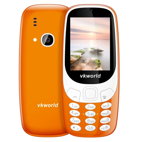 Vkworld Z3310 Feature Phone 2G GSM 6531 2.4 pouces