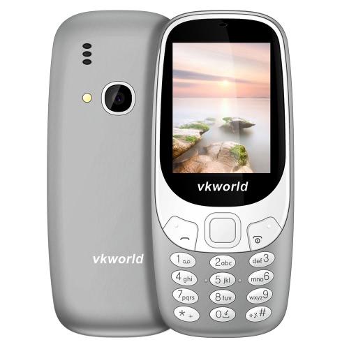 Vkworld Z3310 Feature Phone 2G GSM 6531 2.4 polegadas