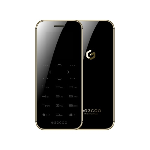 GEECOO Mini1 Carte Téléphone 2G Feature Mobile Phone