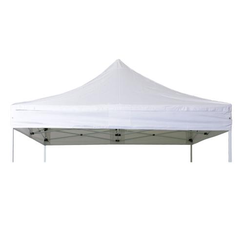 Bâche de Toit Barnum Pliant 4x4m Polyester 300g/m² pelliculé PVC - ACIER 32 & ALU 40
