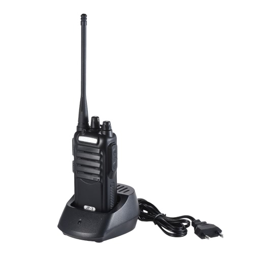 Original BAOFENG JP-3 Mobile 2-way Radio Walkie Talkie UHF CTCSS / DCS Transceptor de mão Interphone Rádio FM com suporte