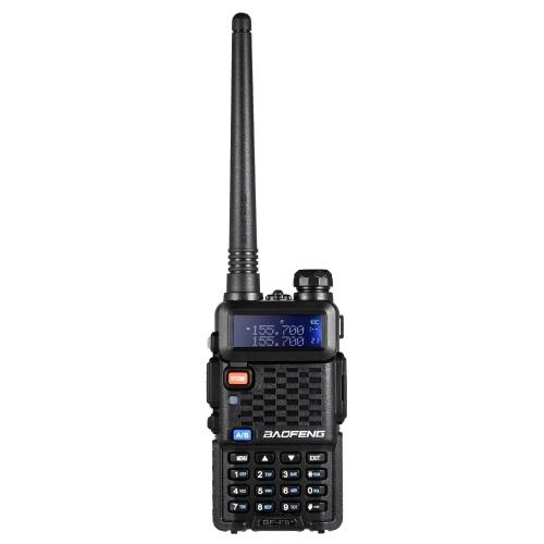 BAOFENG F8 + VHF / UHF Dual Band Transceptor de mão Interfone