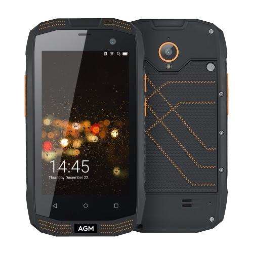 AGM A2 IP68 Waterproof 4G Smartphone 4.0inch Screen
