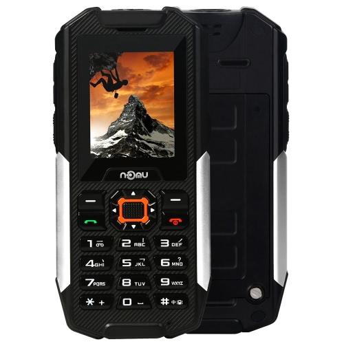 NOMU T10 IP68 impermeável Smartphone SOS 2G GSM MTK6261A 2 polegadas 32M + 128M câmera 0.3MP