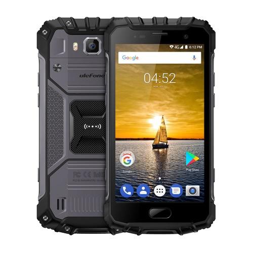 UleFone Armor 2 4G Smartphone Waterproof 5.0 polegadas 6GB RAM ROM de 64GB