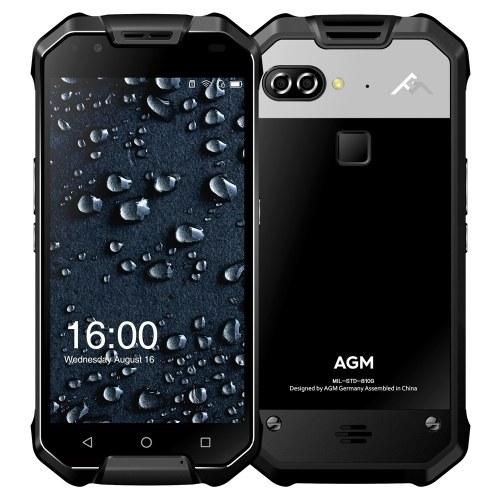 AGM X2 Tri-proof 4G IP68 Waterproof Smartphone 5.5 polegadas AMOLED 6GB RAM ROM de 64GB