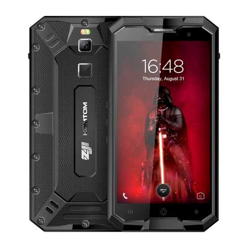 HOMTOM ZOJI Z8 IP68 Mobile Phone Waterproof Shockproof Dustproof Ragged Fingerprint 4G Smartphone 5.0 Inches HD 4GB RAM+64GB ROM