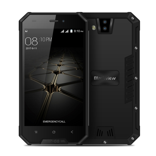 Blackview BV4000 Pro Tri-proof Smartphone 3G WCDMA Exterior Ragged Tough Phone 4.7inch 2GB RAM 16GB ROM