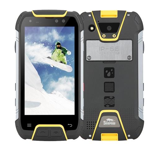 Snopow M10 IP68 4G Telefone móvel impermeável à prova de choque à prova de poeira de 5,0 polegadas Corning Gorilla Glass FHD 6 GB RAM ROM de 64 GB