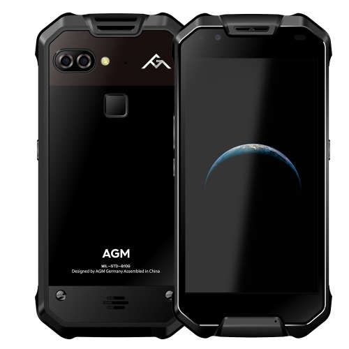 Smartphone IP68 de l'AGM X2 SE 4G imperméabilisent la ROM de 6GB RAM 64GB