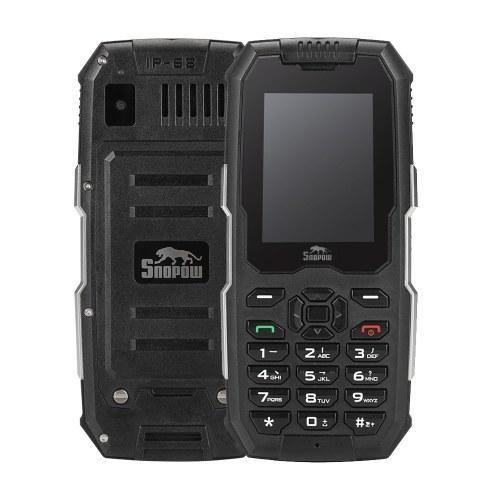 Altoparlante robusto antiurto impermeabile antiurto impermeabile del telefono cellulare IP68 di Snopow M2 2G 2500mAh 2.4inch GSM