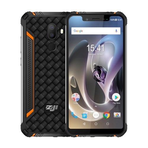 HOMTOM ZOJI Z33 IP68防水4Gスマートフォン
