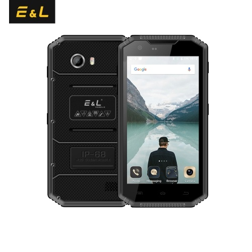 KXD E&L W7S IP68 Waterproof Rugged Mobile Phone