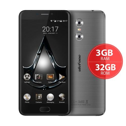 uleFone Gêmeos 4G FDD-LTE Smartphone MTK6737T 64-bit 1.5GHz Quad Core 5.5