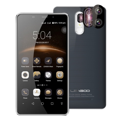 LEAGOO M8 Pro 4G Smartphone 5.7inch HD Screen 2GB RAM 16GB ROM Двойная задняя камера