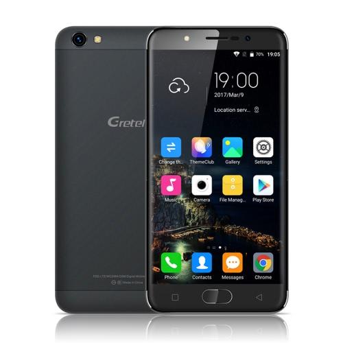 Gretel A9 4G FDD-LTE Smartphone MTK6737 64-bit 1.25GHz Quad Core 5.0