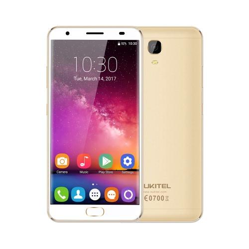 OUKITEL K6000 Inoltre 4G FDD-LTE 3G WCDMA MTK6750T a 64 bit Octa core 5,5 pollici 2.5D FHD 1920 * 1080 pixel dello schermo Android 7.0 Notifica 4GB di RAM + 8MP 64GB ROM + 16MP Dual Camera Fingerprint ID Sblocco LED 12V / 2A Fast Charge OTG WiFi 6080mAh Reverse ricarica