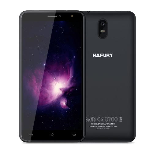 HAFURY UMAX 3Gスマートフォン2ギガバイトのRAM + 16ギガバイトROM 4500mAh