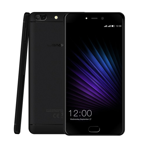 LEAGOO T5 4G Dual-Back-Camera Fingerprint Smartphone 5.5-inch 4GB RAM+64GB ROM