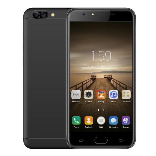 X-BO M1 Smartphone 4G FDD-LTE Telefon 5,5 cala Wyświetlacz HD IPS 1280 * 720 pikseli MTK6737 Quad rdzeniowy procesor 1,3 GHz Android 6.0 1 GB RAM 16 GB ROM 5.0MP + 2.0MP Aparat 2900 mAh Bateria Dual SIM GPS WiFi