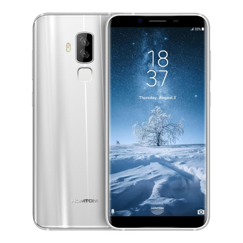 HOMTOM S8 Smartphone 4G FDD-LTE Telefone 5.7inc HD + tela 18: 9 Ratio 4GB RAM ROM de 64GB