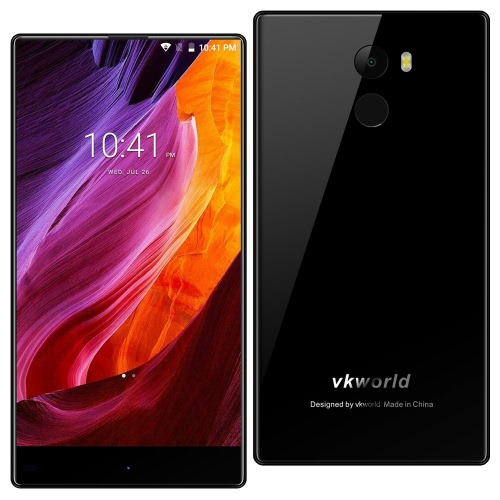 Vkworld Mix Plus Fingerprint Smartphone 4G FDD-LTE 3G WCDMA 5.5-дюймовый HD 3GB RAM + 32 ГБ ROM