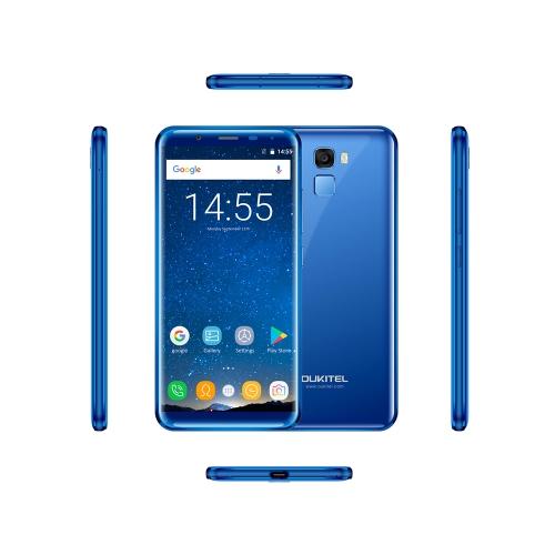 OUKITEL K5000 Mobile Phone 4GB 64GB EU Plug (Blue)