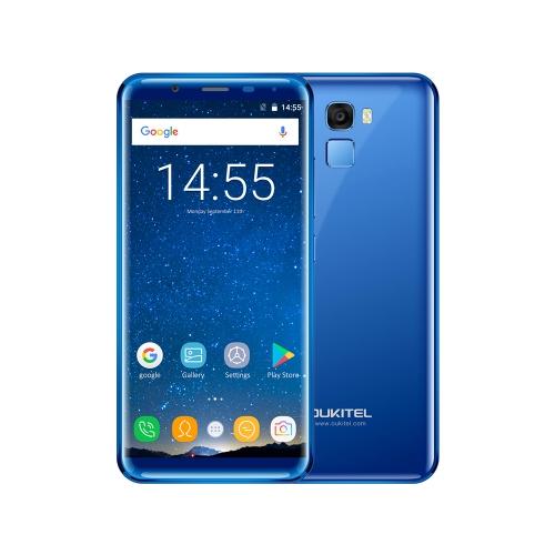 OUKITEL K5000 5.7 pouces 18: 9 Sans lunette Téléphone Mobile 4Go RAM 64Go ROM seulement € 141.66