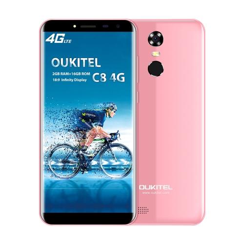OUKITEL C8 4G Telefone móvel 18: 9 5.5 polegadas HD 2GB RAM ROM 16GB