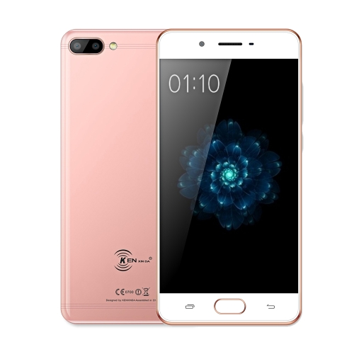 Ken Xin Da X6 Fingerprint Smartphone 4G FDD-LTE 5 pouces HD 3GB RAM + 32GB ROM