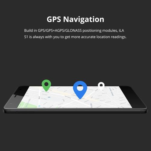 iLA S1 4G LTE Mobile Phone 5.5-Inch FHD 2GB+16GB