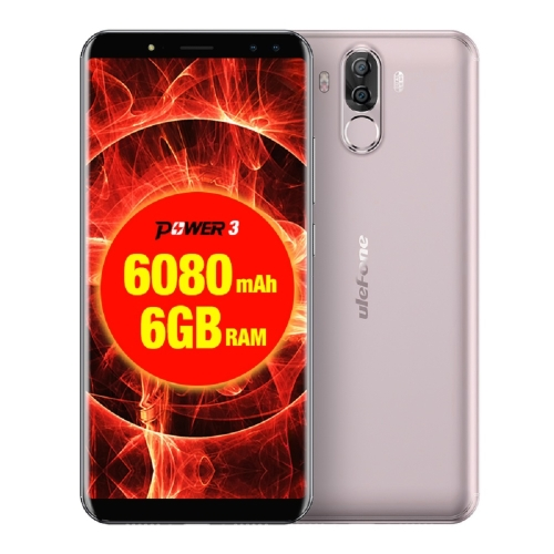 Ulefone Power 3 Face ID 4G Smartphone 6GB + 64GB 6080mAh