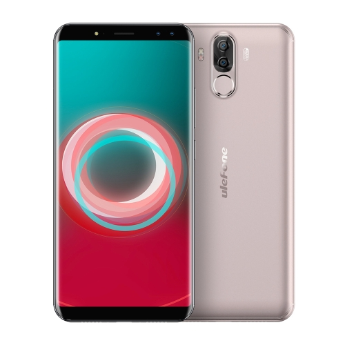 Ulefone Power 3S Face ID Téléphone Mobile 4 Go + 64 Go Plug UE (Or)