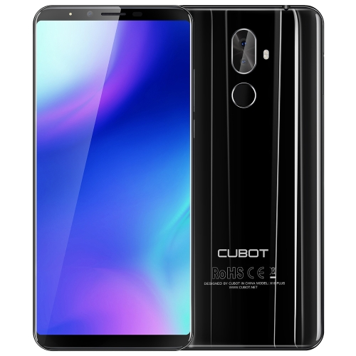 CUBOT X18 Plus 4G Android用スマートフォン8.0 5.99インチFHD + 4GB + 64GB