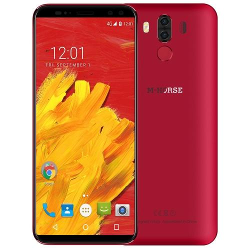 M-HORSE Pure 3 4G Smartphone da 4 GB 64 GB (rosso)