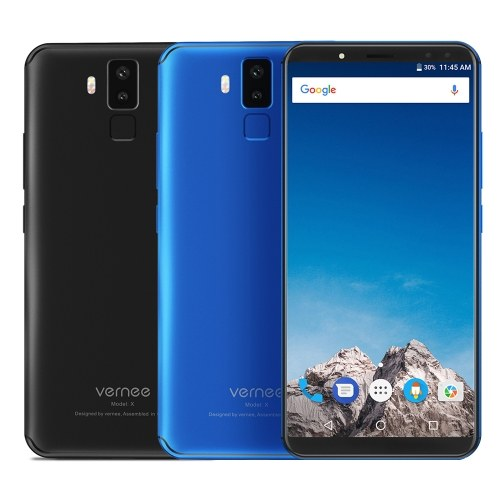 Vernee X1 4G Smartphone 6200 mAh 6 Go RAM 64 Go ROM