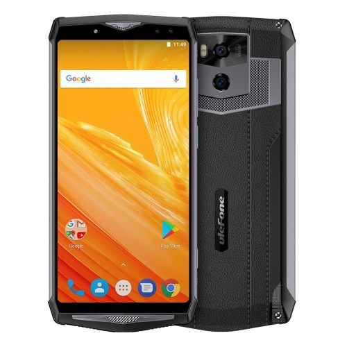 Ulefone Power 5 13000mAh 4G Mobile Phone 6GB+64GB EU Plug (Dark gray)