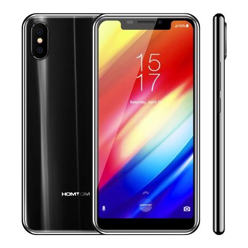 HOMTOM H10 4G Cellulare 4 GB + 64 GB EU Plug (nero)