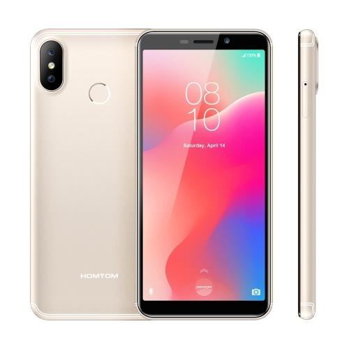 HOMTOM C1 Mobile Phone 5.5Inch Fingerprint Unlock  Smartphone