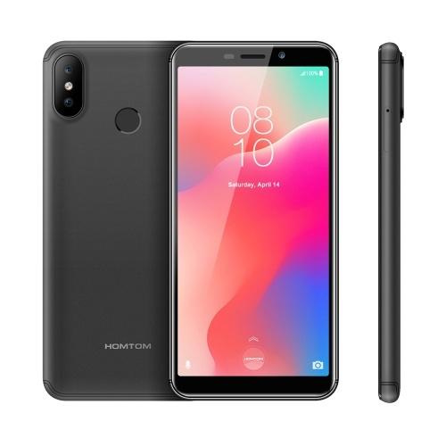 HOMTOM C1 Мобильный телефон 5,5-дюймовый смартфон разблокировки отпечатков пальцев