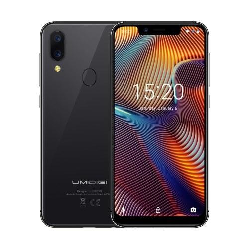 Bande globale du smartphone UMIDIGI A3 Pro